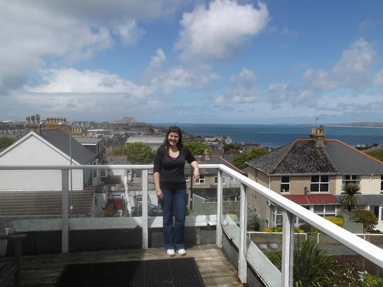 The Trelinda Bed & Breakfast: view from the balcony