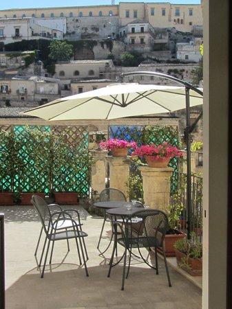 Hotel Relais Modica : In terrazza al mattino