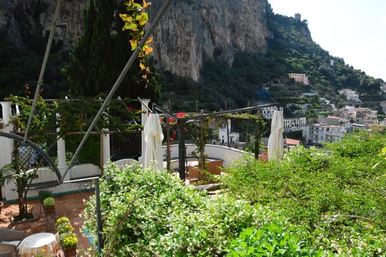 Hotel Villa Annalara: terrazza