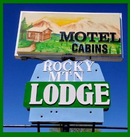 Rocky Mountain Lodge: Our Newest sign