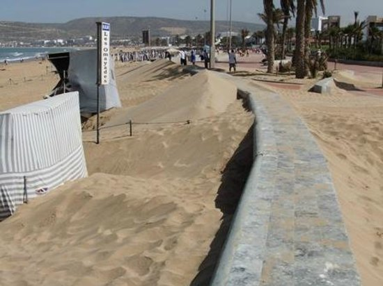 Hotel Riu Palace Tikida Agadir: Beach
