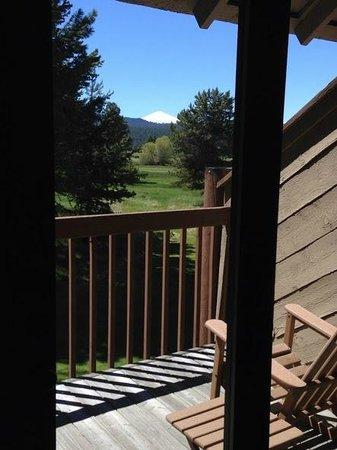 Sunriver Resort: Nice sunny deck