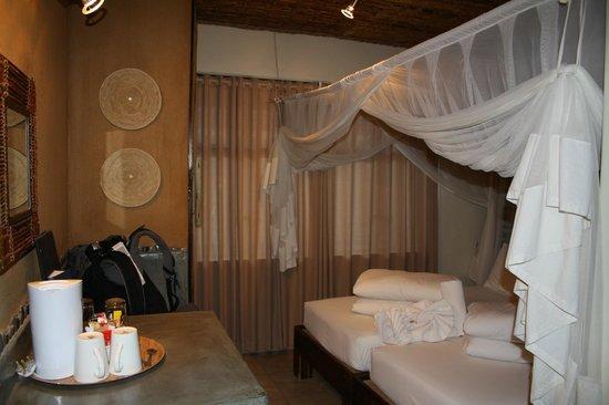 Okaukuejo Resort: Unser Zimmer