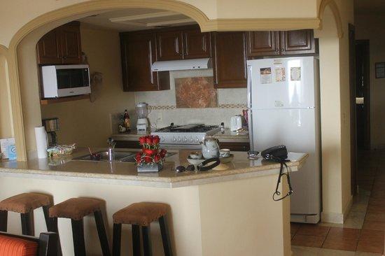 Vallarta Torre: kitchen