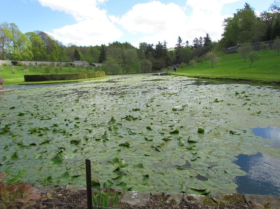 Blair Castle and Hercules Gardens: Landscaped Ponds in Herules Gardens