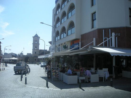 Livadhiotis City Hotel: Agios Lazaros and the hotel