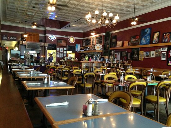 Starving Artist Cafe Interior
