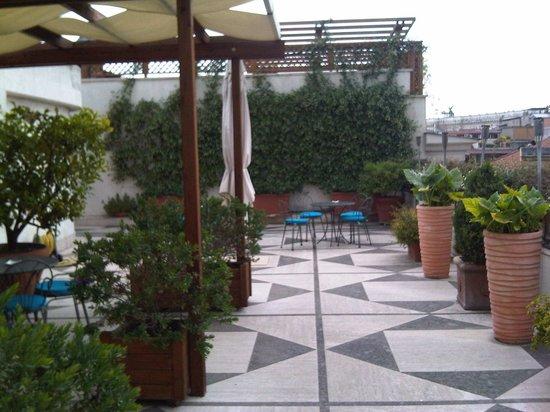 Hotel Dei Mellini: Roof Terrace