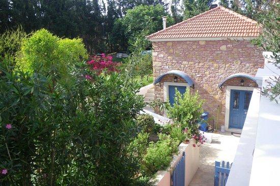 ميتوهي جيورجيلا: Garden view from our patio