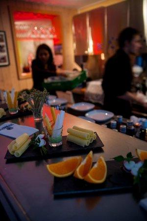 D' Rauberegge Lounge: Free aperitif every Friday