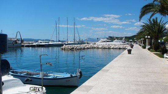 Bluesun Resort Afrodita: harbour tucepi