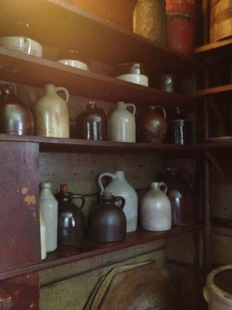 River Bend Farm: Bathroom jug collection
