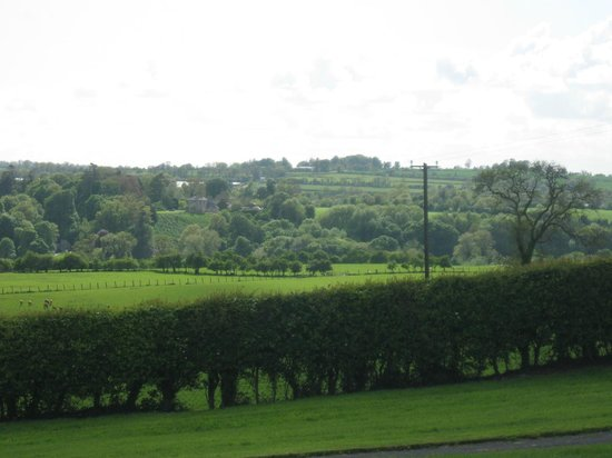 Looking Back at Rossnaree from Newgrange