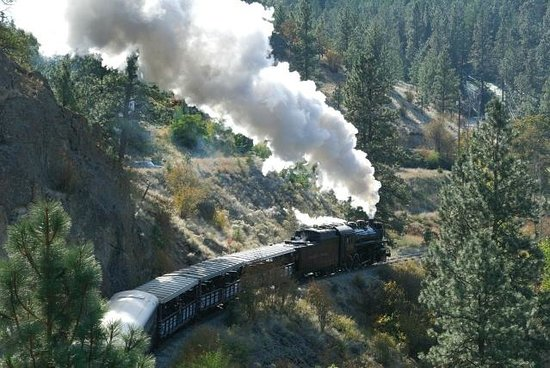 Summerland, Canada: provided by: Kettle Valley Steam Railway