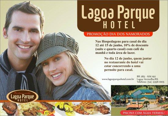 Lagoa Vermelha, RS: Promoção válida de 12/06 até 15/06.Faça sua reserva pelo fone 54-3358-1005.