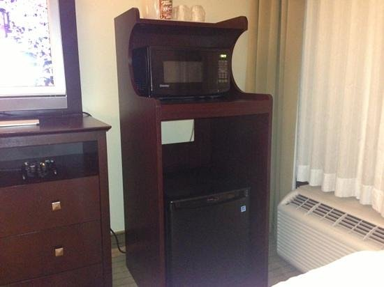 Holiday Inn Kalamazoo-West: mini fridge/microwave