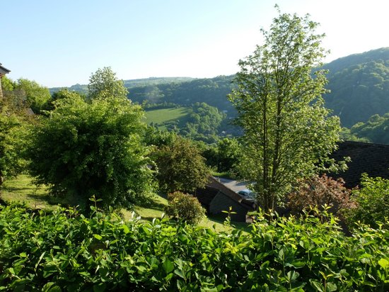 The Gables Bed & Breakfast: view from patio
