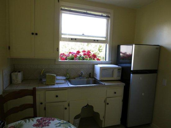 Marina Motel : La cocina.