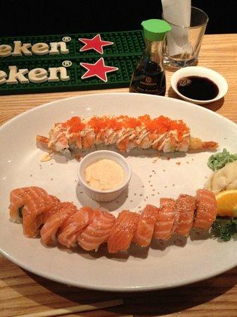 The Cowfish Sushi Burger Bar: The Cowfish Sushi Rolls- Fantastic