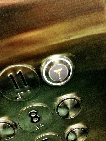 21c Museum Hotel Cincinnati: Elevator quirkiness...