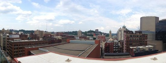 21c Museum Hotel Cincinnati: Views of the city...