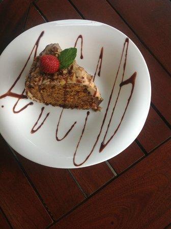 Tacobar Santa Ana: Queque de zanahoria / Carrot cake