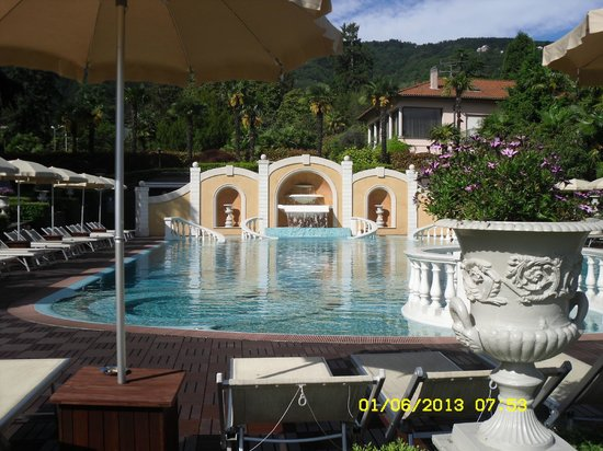 Outdoor Pool Picture Of Grand Hotel Bristol Stresa Tripadvisor