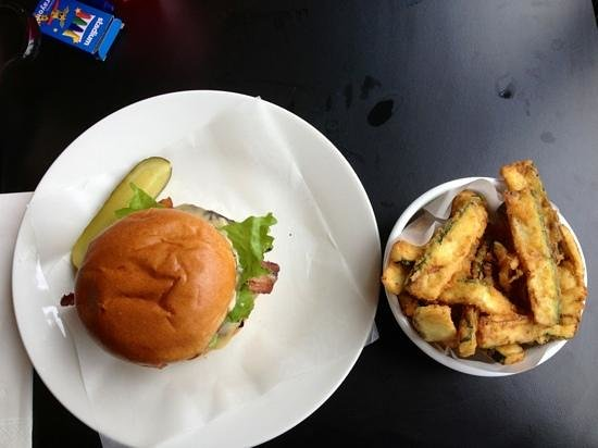 Byron Hamburgers: Byron Burger ad courgette fries