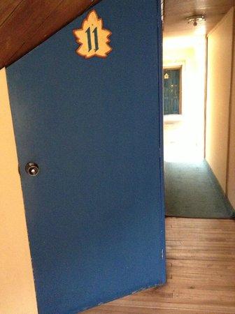 Posada Del Maple: Room 11 Door