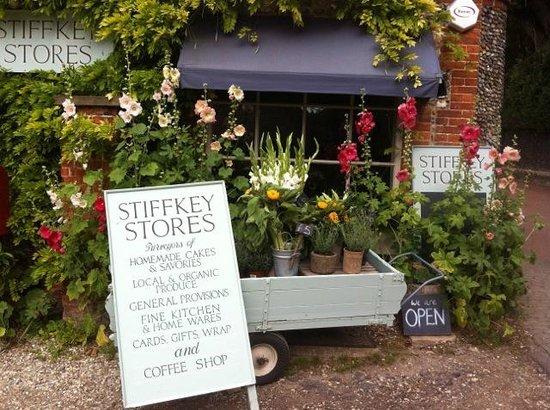 Stiffkey Stores: shop front