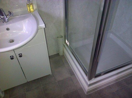 Hillside Bed & Breakfast: The spotless bathroom