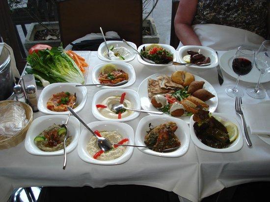 Rimal Restaurant Paris Menu
