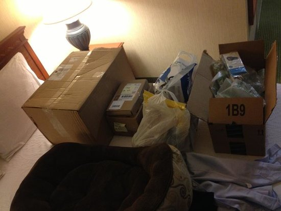 Hilton Garden Inn San Jose/Milpitas : Packages arrived before me and received all ok by front desk