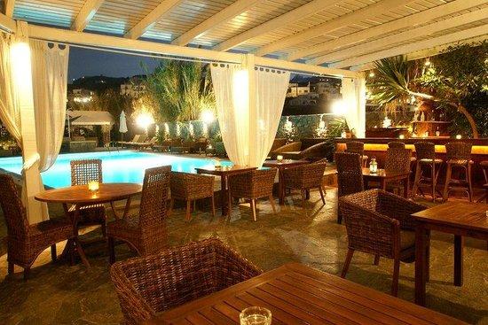 Dionysos Boutique Hotel: Pool Bar