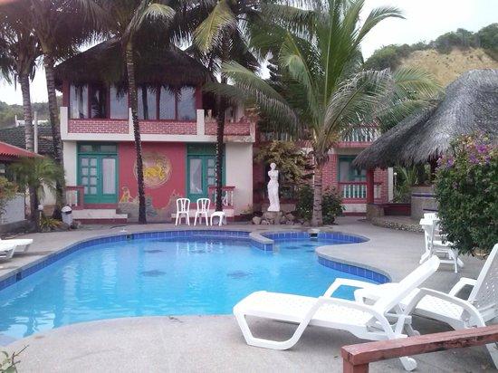 Hosteria Canoa : Piscina