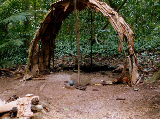 Heritage Lodge & Spa: an aboriginal ceremonial hut