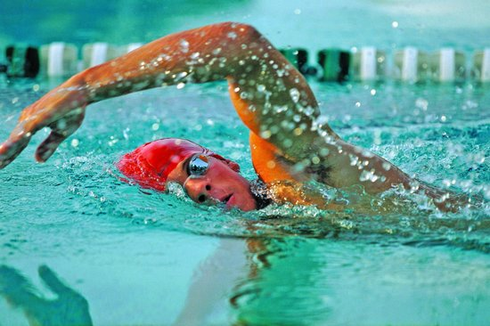 Maidstone Leisure Centre: Swimming in the MLC fitness pool