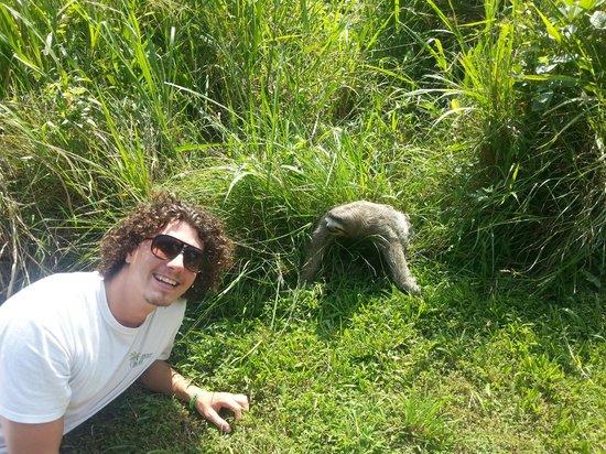 Urban Adventures Panama: Panama Jeff and the Sloth