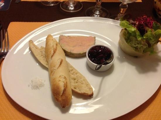 Les Tilleuls: Foie gras maison