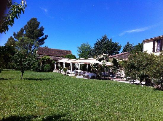 Moulin de la Camandoule : Le jardin