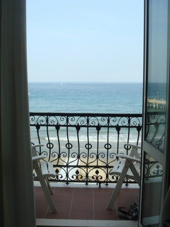 View from our balcony at Residence le Terrazze - Picture of ...