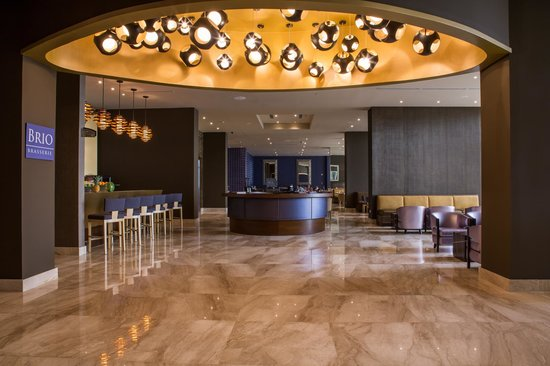 Waldorf Astoria Panama: BRIO Brasserie, a casual all day dining restaurant that combines modern French and American cuis