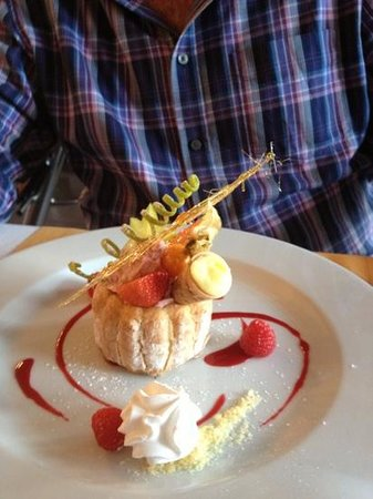 Le Sweet Restaurant: this is a great work and fantastic rich flavours