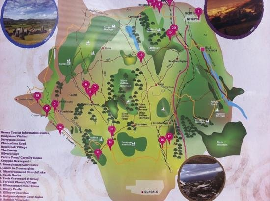 Ring of Gullion: Slieve Gullion forest park