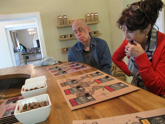 DV Artisan Chocolate: Savoring the flavor - halfway point