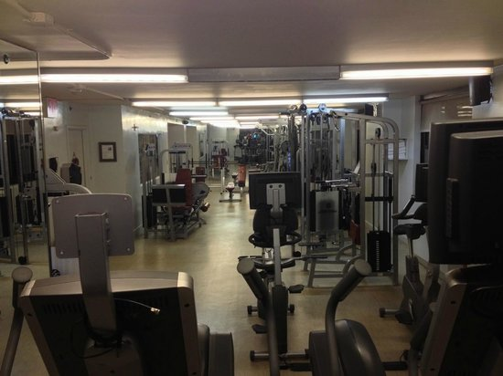 Dumont NYC–an Affinia hotel: Excellent gym facilities