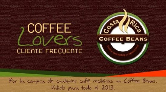 Coffee Beans : Coffee Lovers, Cliente frecuente