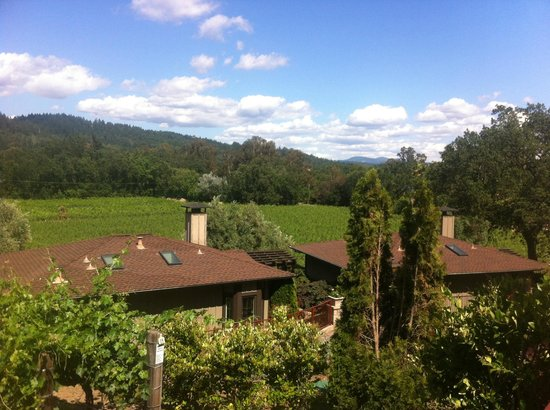 The Wine Country Inn: View from private deck