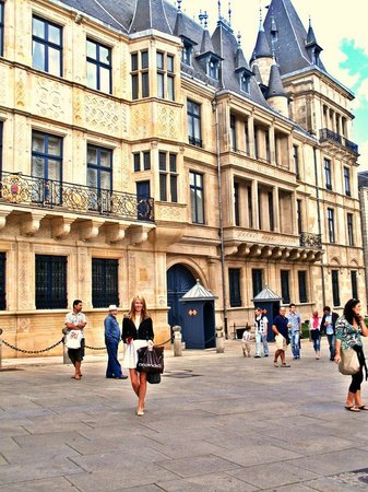 Palace of the Grand Dukes (Palais Grand-Ducal) : great architecture