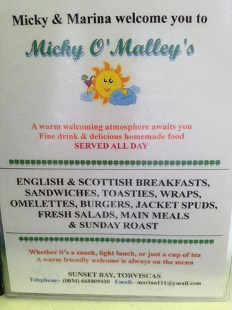 Micky O'Malley's: Unbeatable value for money food